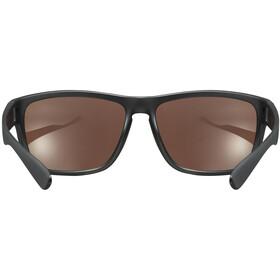UVEX LGL 36 Colorivision Okulary, black mat/mirror green